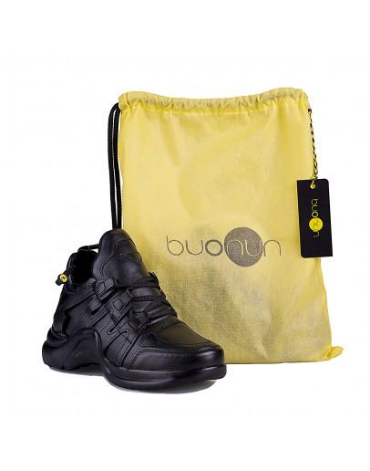 Siyah Renk Spor Bot Ugly Sneaker