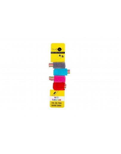 Kırmızı Pembe Mavi Gri Renkli Kablo Toplayıcı Model 1