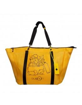 Sarı Renk Filebezi Çok Fonksiyonel Alışveriş Çantası